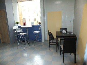 池袋 貸しスタジオ MIB には 待合室 ラウンジスペース があります