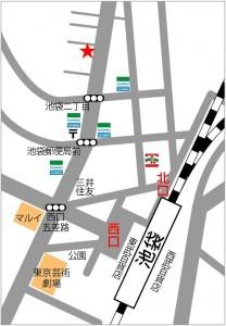 池袋 MIB レンタルスタジオ 地図
