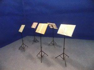 池袋 レンタルスタジオ では 譜面台 をご用意しています。
